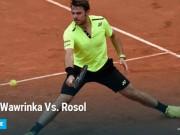 Thể thao - Wawrinka – Rosol: Ngai vàng lung lay (vòng 1 Roland Garros)
