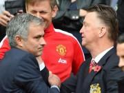 Bóng đá - MU: Mourinho báo cho Van Gaal biết quyết định sa thải