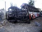 Tin tức trong ngày - Vụ cháy xe 12 người chết: Tài xế ăn bún khi đang chạy xe