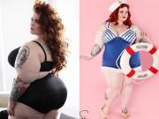Thời trang - Quảng cáo bị Facebook cấm vì người mẫu quá béo