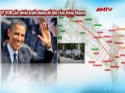 Video An ninh - TP.HCM cấm nhiều tuyến đường để đón Tổng thống Obama