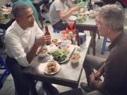 Ẩm thực - Lý do Tổng thống Obama thưởng thức bún chả Hà Nội