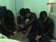 """Video An ninh - Hai kiều nữ thác loạn trong ổ """"đập đá"""" trá hình"""