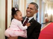 Những khoảnh khắc chơi đùa thoải mái của ông Obama