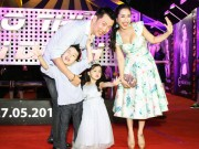 """Phim - Gia đình Ốc Thanh Vân """"quậy phá"""" trên thảm đỏ"""