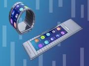 Công nghệ thông tin - Đồng hồ thông minh màn hình uốn cong quanh cổ tay độc đáo