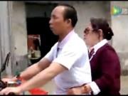 Phi thường - kỳ quặc - Video: Chồng mù 2 mắt đèo vợ đi làm ở Trung Quốc