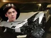 Siêu xe hơn 20 tỉ của sao Hoa ngữ vỡ nát vì tai nạn