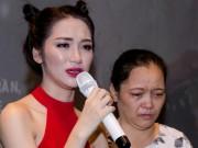 Ca nhạc - MTV - Hòa Minzy khóc nức nở xin lỗi mẹ chốn đông người