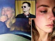 Phim - Johnny Depp dùng iPhone đánh bầm tím mặt vợ