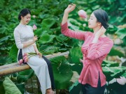 Bạn trẻ - Cuộc sống - Nữ sinh Ngoại thương e ấp bên sen đầu mùa