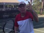 """Thể thao - Tennis 24/7: Ông lão 76 tuổi """"thách đấu"""" Federer"""