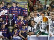 Bóng đá - Không cúp C1, mùa giải của Barca vẫn tốt hơn Real