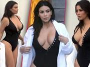 Thời trang - Kim Kardashian khoe dáng bốc lửa sau sinh