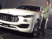 """"""" Cây đinh ba """"  Maserati Levante SUV lộ giá"""