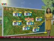 Tin tức trong ngày - Dự báo thời tiết VTV ngày 1/6: Hà Nội nắng gắt 37 độ C