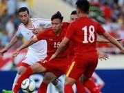 Bóng đá - Việt Nam-Syria (2-0): Hạng 110 nhìn hạng 145 'múa'