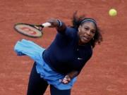 Thể thao - Roland Garros ngày 11: Serena thần tốc vào tứ kết, Venus ra về