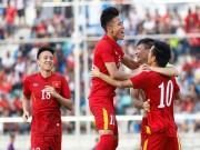 Bóng đá - Chùm ảnh: Thắng Hong Kong, ĐTVN ăn mừng như vô địch
