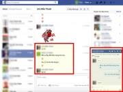 """Công nghệ thông tin - Cách tìm lại biểu tượng """":v"""" và """":3"""" khi chat Facebook"""