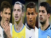 Bóng đá - Đọ đội hình Copa – Euro: Messi, Suarez đấu CR7, Ibra