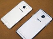 Dế sắp ra lò - Cận cảnh Galaxy C5 và Galaxy C7 mới ra mắt
