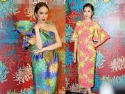 Thời trang - Tăng Thanh Hà, Angela Phương Trinh đọ sắc đẹp lộng lẫy