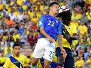 Bóng đá - Brazil - Ecuador: Nhọc nhằn ngày ra quân