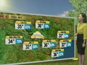 Tin tức trong ngày - Dự báo thời tiết VTV 6/6: Bắc Bộ oi nóng, Nam Bộ có mưa