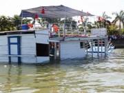 """"""" Hồ sơ đen """"  của tàu Thảo Vân 2 bị lật trên sông Hàn"""