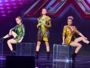 """Trai xinh, gái đẹp gây náo loạn  """" X-Factor """""""