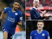 """Bóng đá - Gần xong vụ Vardy, Arsenal tính """"cuỗm"""" nốt Mahrez"""