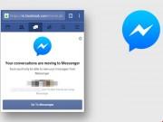 Công nghệ thông tin - Facebook sắp loại bỏ tính năng chat trên trình duyệt di động