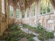 Du lịch - Vẻ đẹp kỳ quái bên trong những tòa nhà bỏ hoang