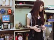 Bạn trẻ - Cuộc sống - Hot girl trà sữa Trung Quốc khiến dân mạng mê mệt