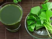 Sức khỏe đời sống - Tác hại ai cũng cần lưu ý khi uống nước rau má giải nhiệt