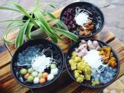 """Ẩm thực - Thạch thảo mộc- Món ăn đang """"gây bão"""" trong giới trẻ SG"""
