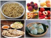 """Những món ăn  """" gây thèm """"  trong ngày Tết Đoan Ngọ"""