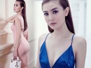 Thời trang - Giải Đồng Siêu mẫu diện váy bó quyến rũ