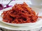 Ẩm thực - Cách làm mực khô tẩm tương ớt lai rai mùa Euro