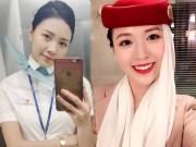 Bạn trẻ - Cuộc sống - 4 cô gái Việt trở thành tiếp viên hàng không quốc tế