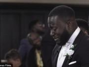 Bạn trẻ - Cuộc sống - Bất ngờ lý do chú rể khóc không ngừng trong đám cưới