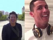 Thanh Bùi xuất hiện cực chất bên Ronaldo