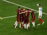 Bóng đá - Ảnh đẹp Euro 12/6: Xứ Wales mở hội, người Anh thở dài