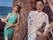 Thời trang - Lệ Hằng đẹp gợi cảm trên biển Thái Lan