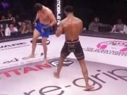 Thể thao - MMA: Đá đối thủ, gãy chân kinh hoàng