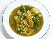 Ẩm thực - Bữa cơm đầu tuần thanh đạm với chuối om đậu chay
