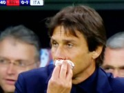 Bóng đá - Học trò ghi bàn, Conte mừng quá chảy cả máu mũi