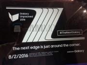 Dế sắp ra lò - Ấn định ngày ra mắt Samsung Galaxy Note 7