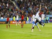 """Bóng đá - Ảnh đẹp Euro 14/6: Bỉ ôm hận trước """"vua phản công"""" Italia"""